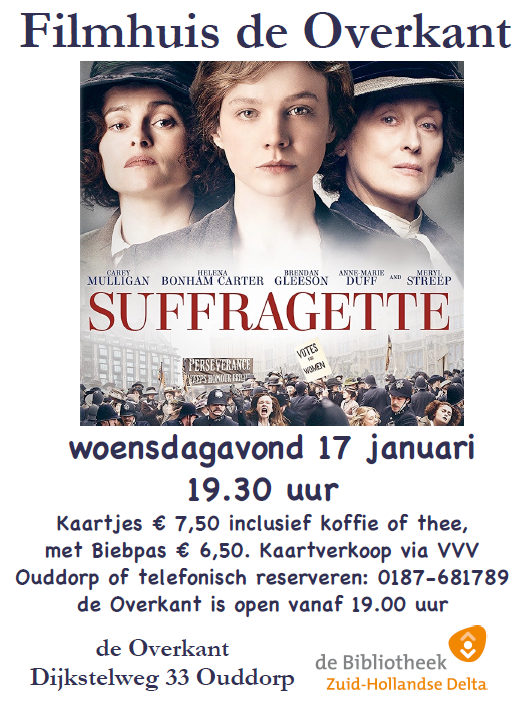 20180117 afb poster film Overkant Suffragette